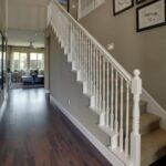 Inspiring White Stair Handrail Picture 815