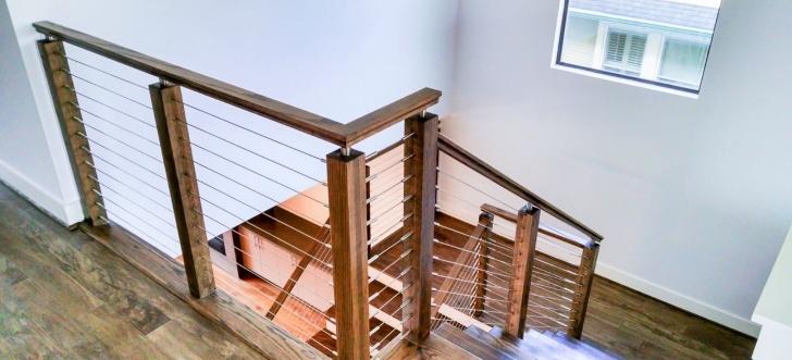 Inspiring Wire Stair Railing Image 000