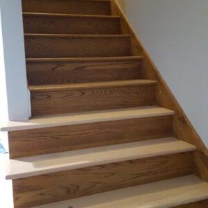 Wood Floor Steps