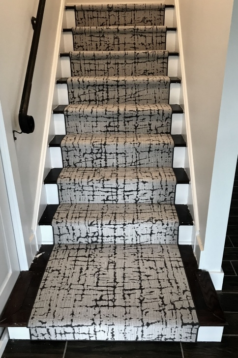 Interesting Black And White Stair Runners Photo 303