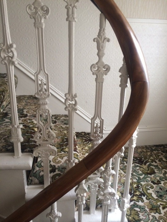 Interesting Cast Iron Staircase Photo 675