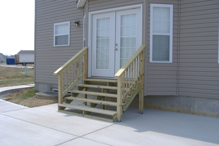 Interesting Exterior Wood Stairs Photo 115