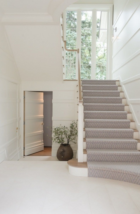 Interesting Fully Carpeted Stairs Image 108