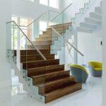 Interesting Glass Stair Railing Image 663