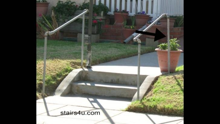 Interesting Handrails For Outdoor Steps Image 557