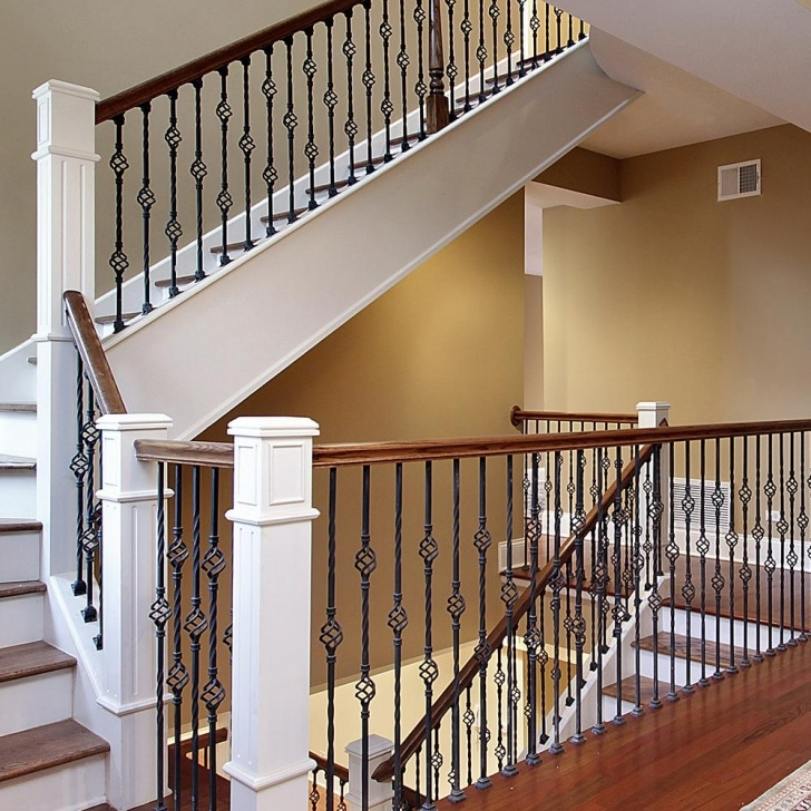 Interesting Metal Balusters Interior Photo 009
