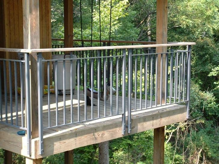 Interesting Metal Handrails For Decks Image 654