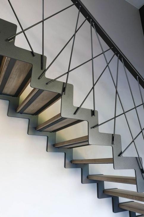 Interesting Modern Stair Handrail Photo 584