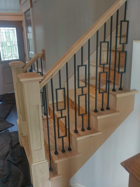 Interesting Modern Wood Stair Railing Image 617