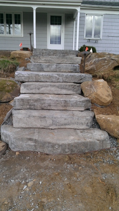 Interesting Outdoor Concrete Steps Image 329