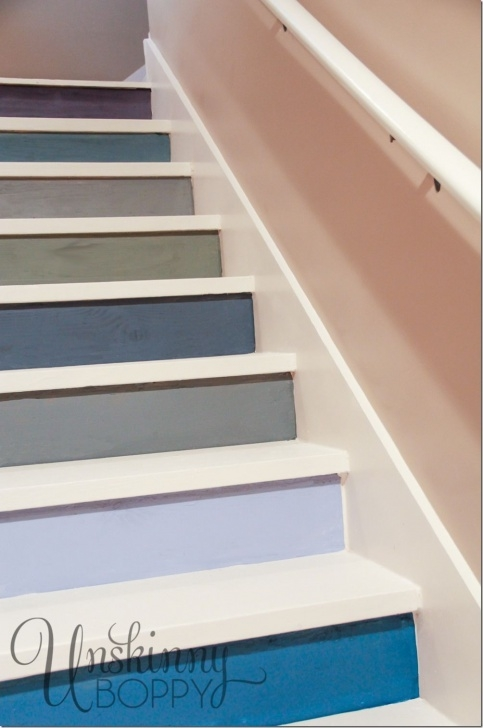 Interesting Painting Basement Steps Image 359