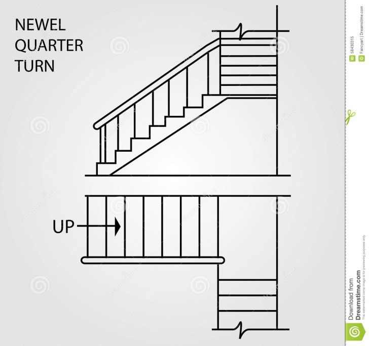 Interesting Quarter Turn Staircase Design Picture 296