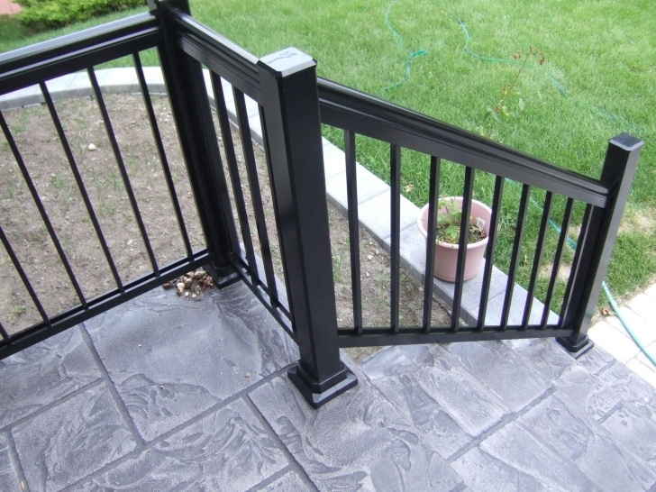 Interesting Railing For Concrete Patio Photo 412