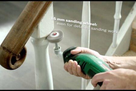 Sanding Banister Spindles