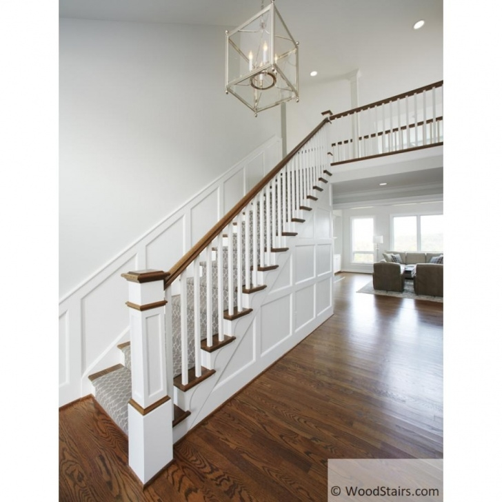 Interesting Square Spindle Staircase Image 021