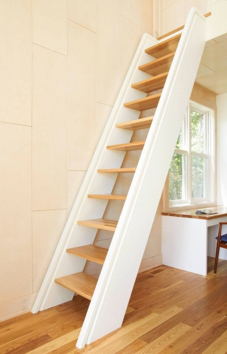 Interesting Stairs Design For Small Space Photo 763