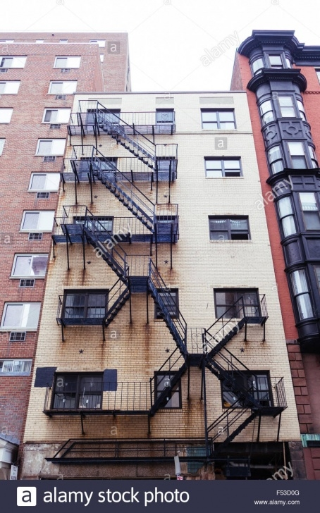 Interesting Stairs On Outside Of Building Photo 133