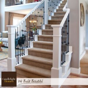 White Staircase Spindles
