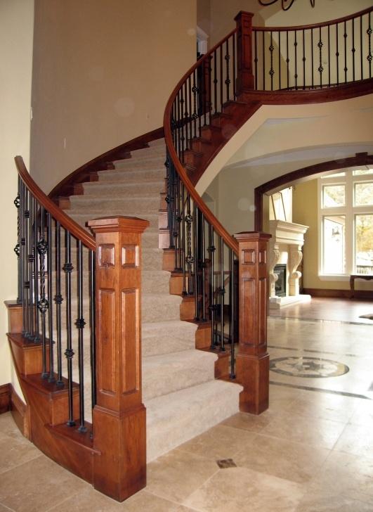 Interesting Wood Railings For Steps Photo 026