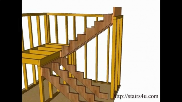Interesting Wood Stair Construction Picture 817