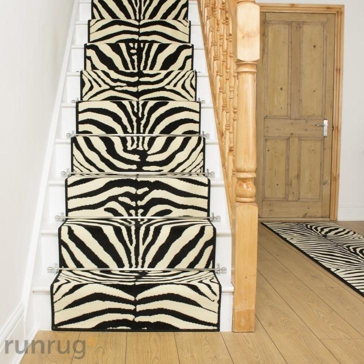 Interesting Zebra Stair Carpet Photo 677