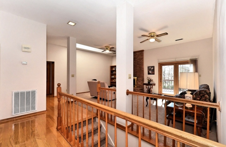 Marvelous Basement Stairs In Middle Of Kitchen Photo 832