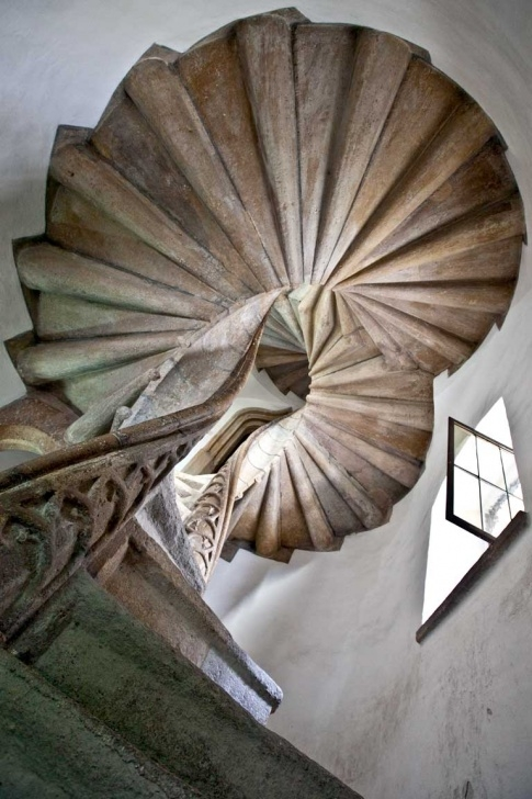 Marvelous Double Spiral Staircase Image 263
