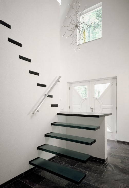 Marvelous Floating Glass Staircase Image 432