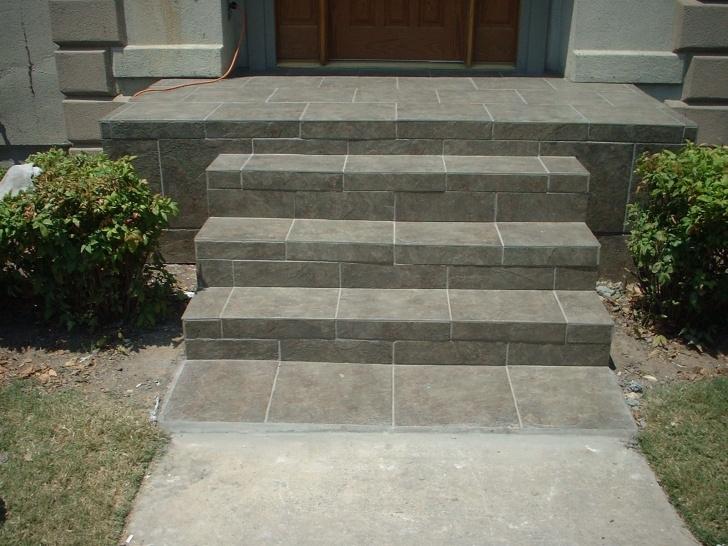 Marvelous Front Door Stairs Design Photo 922