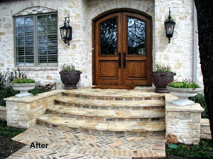 Marvelous Front Door Stairs Design Photo 982