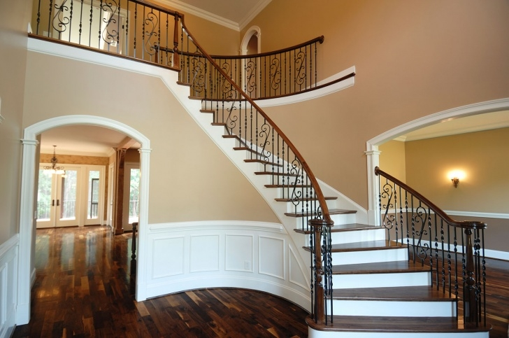 Marvelous Interior Wood Railings Image 333