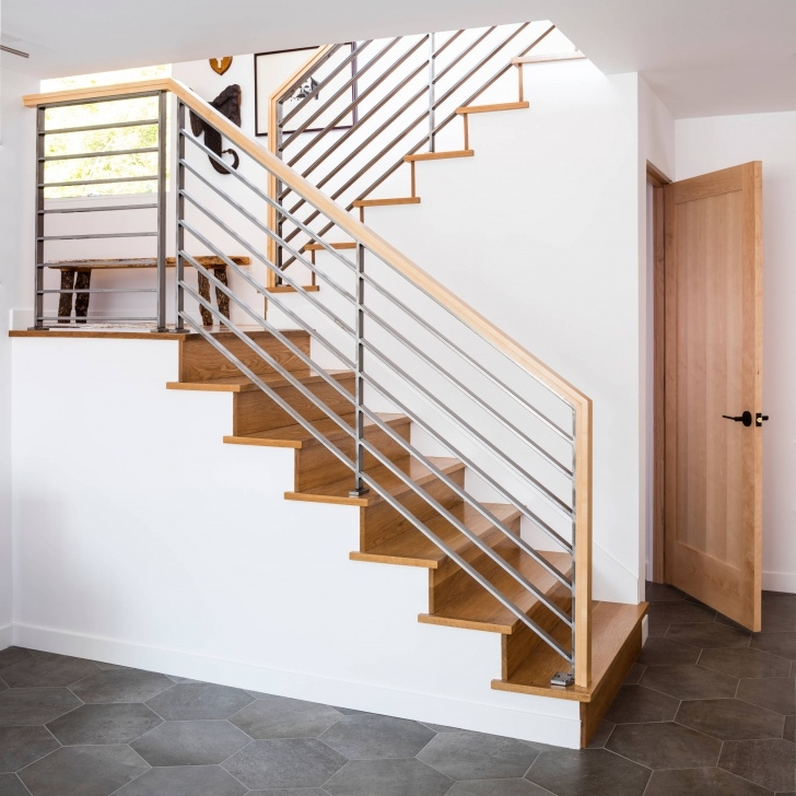 Marvelous Mid Century Modern Stair Railing Picture 054