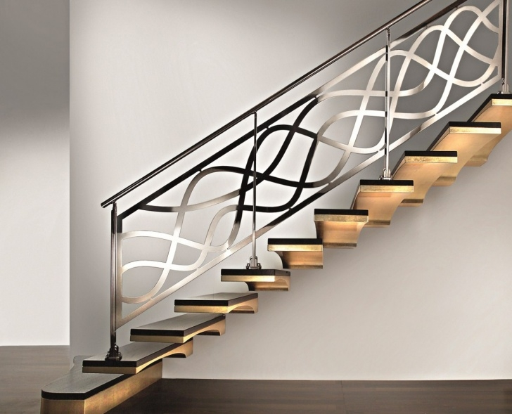 Marvelous Modern Iron Stair Railing Image 496