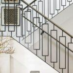 Marvelous Modern Iron Stair Railing Photo 787