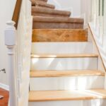 Marvelous Replacing Carpeted Stairs With Wood Picture 894