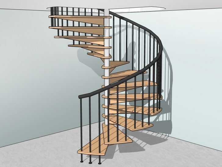 Marvelous Spiral Staircase Plans Image 743