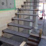 Marvelous Steel Floating Stairs Photo 830