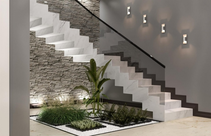 Marvelous Under Stair Garden Design Picture 337