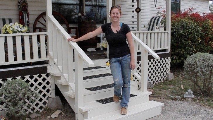 Marvelous Wooden Porch Steps Image 076