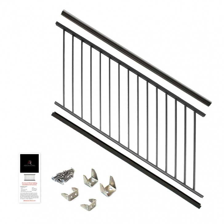 Most Creative Aluminum Outdoor Stair Railing Image 084