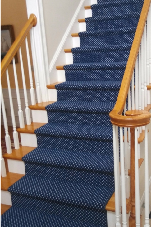 Most Creative Blue Stair Runners Photo 345