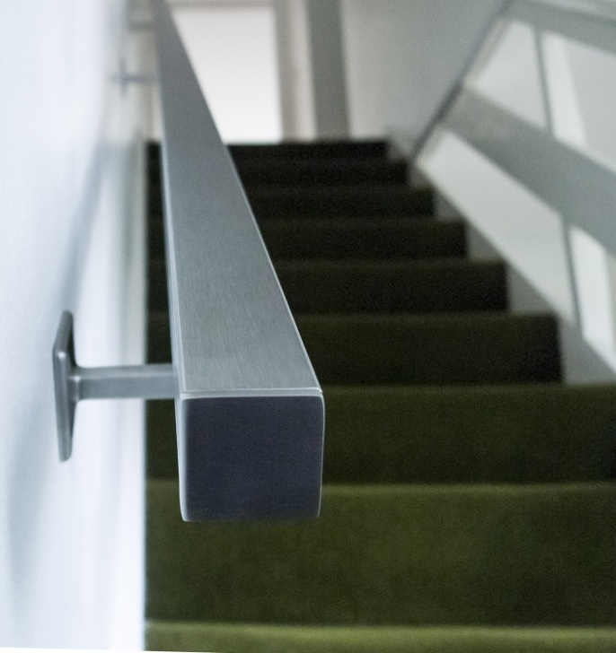 Most Creative Brushed Steel Banister Photo 859
