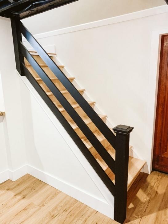 Most Creative Diy Horizontal Stair Railing Image 203