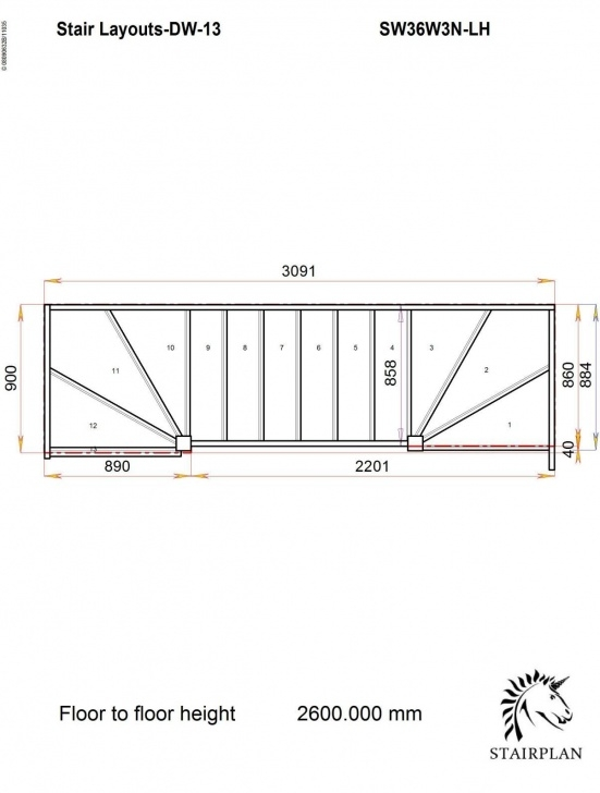 Most Creative Double Winder Staircase Plans Photo 051