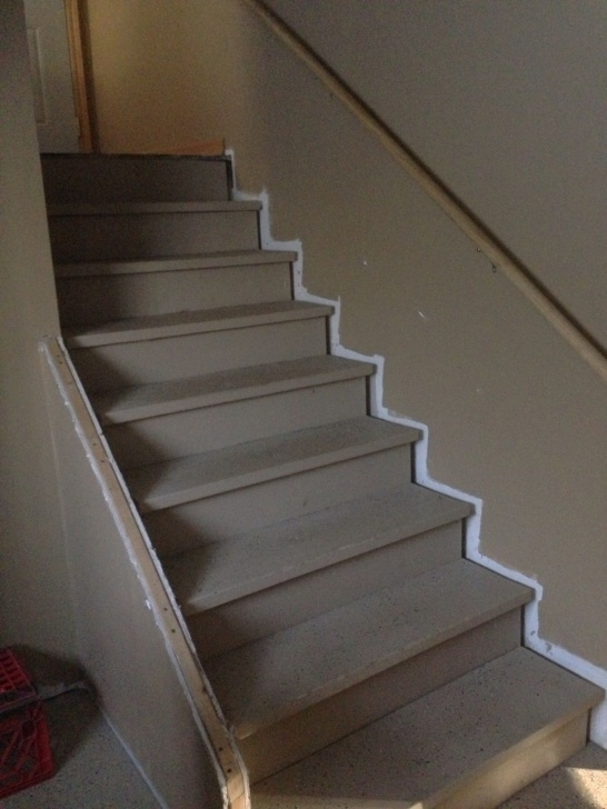Most Creative Finishing Basement Steps Picture 795
