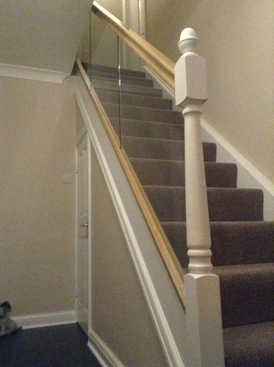 Most Creative Fitting Glass Stair Panels Photo 278