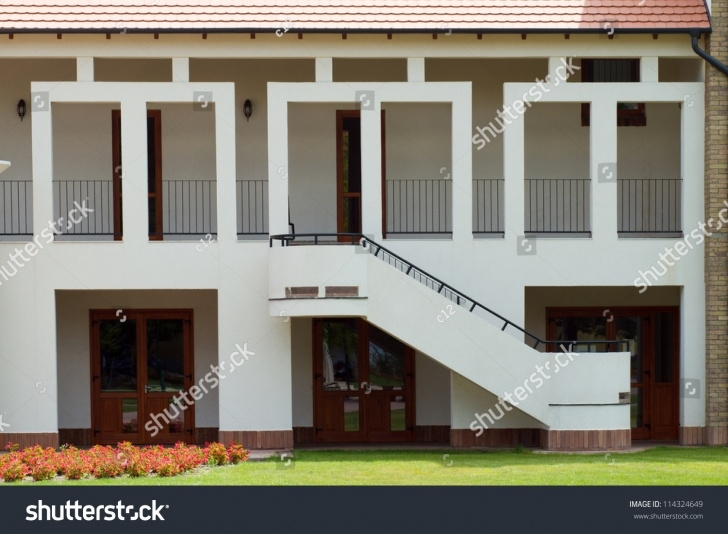 Most Creative Front Side Staircase Design Photo 948