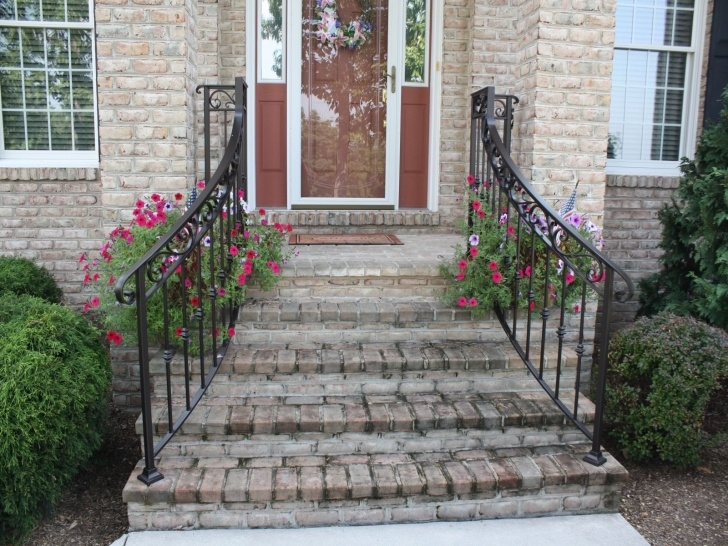 Most Creative Front Stair Railing Picture 841