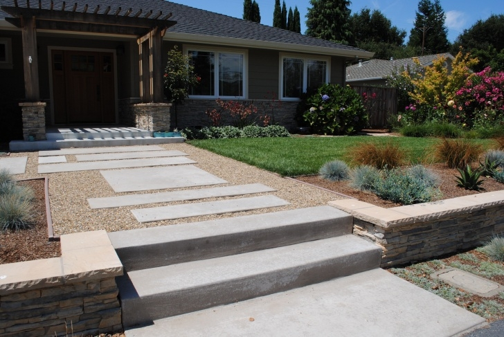 Most Creative Front Yard Stairs Design Image 720