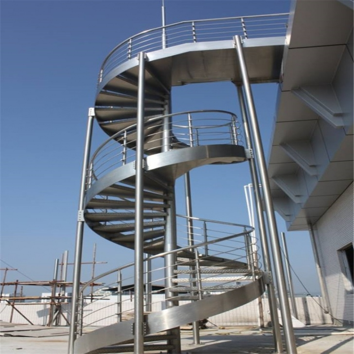 Most Creative Industrial Spiral Staircase Photo 982